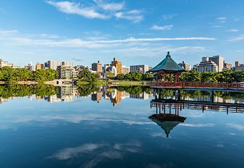 오호리 공원 / 마이즈루 공원(후쿠오카성터)
